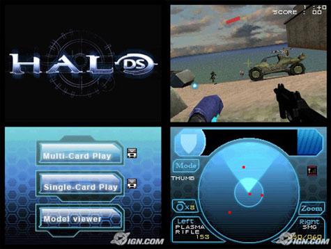 Halo DS - screenshot