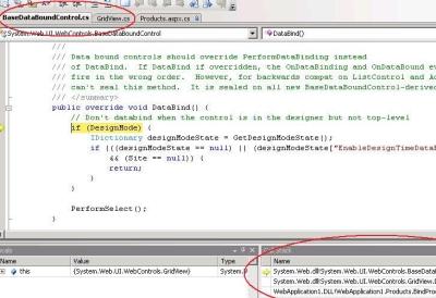 Broncode in Visual Studio