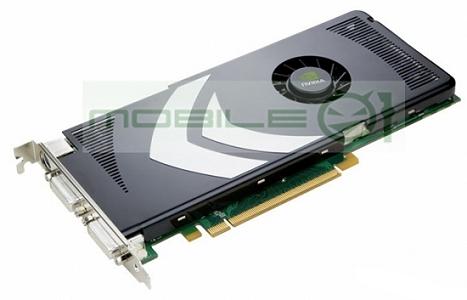 nVidia GeForce 8800GT - isometrisch aanzicht