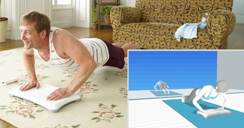 Wii Fit - workout