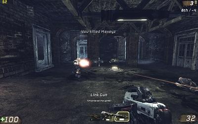 Unreal Tournament 3 beta demo - screenie 1