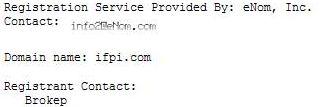 Whois Ifpi.com