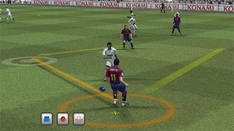 PES 2008 - Wii screenshot