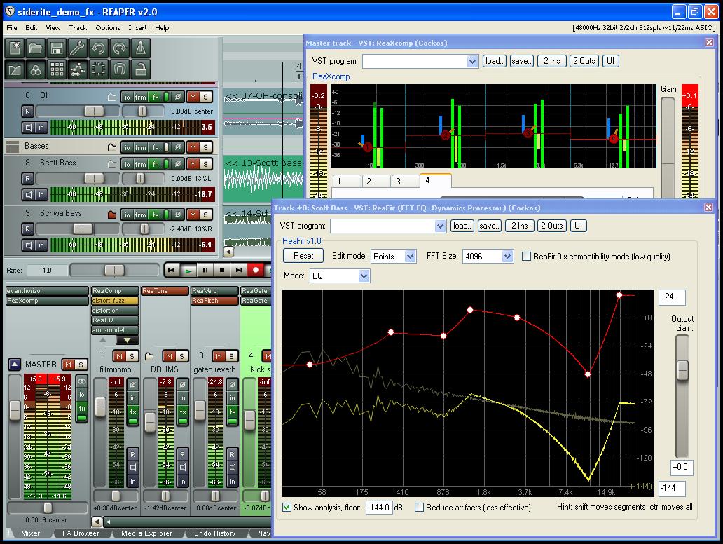 Software-update: Reaper 0 991 - Computer - Downloads - Tweakers