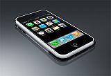 iPhone liggend kleiner