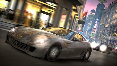 PGR4 - Ferrari door de bocht