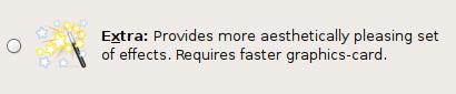 Ubuntu 7.10 - Optie voor Compiz Fusion