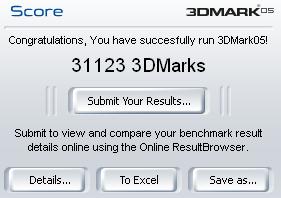 3DMark Yorkfield
