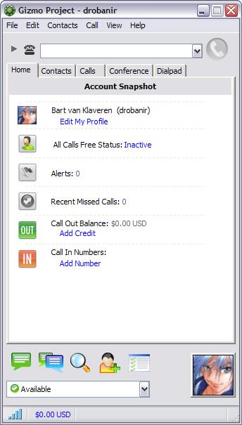 Gizmo for Windows 4.0.0.310 beta