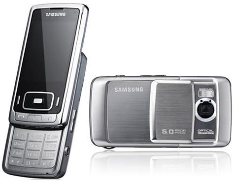Samsung G800-cameratelefoon