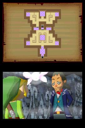 The Legend of Zelda: Phantom Hourglass - screen