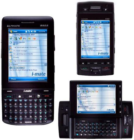 i-mate Ultimate-telefoons