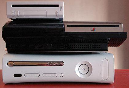 Wii, PS3 en Xbox 360