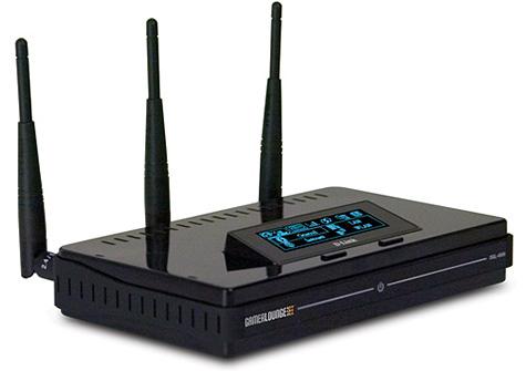 D-Link DGL-4500 gamingrouter met oled