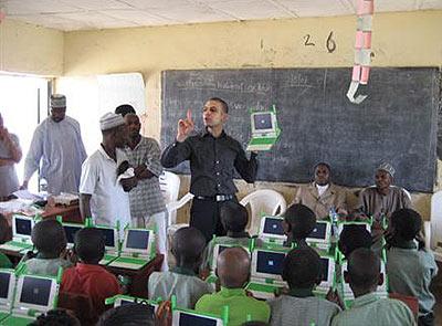 Olpc's in klaslokaal