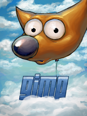 The GIMP 2.4.0 - splash screen