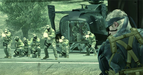 Metal Gear Solid 4 - screen