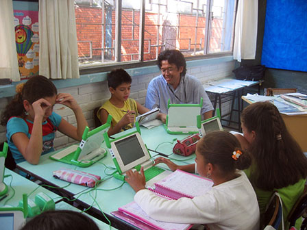 olpc-laptops in de klas