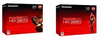 Diamond HD Radeon 3870 3850