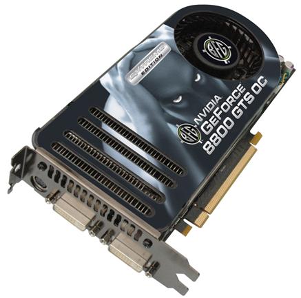 BFG GeForce 8800GTS EE OC