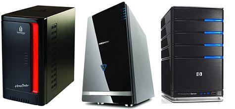 Iomega, Medion en HP Windows Home Server