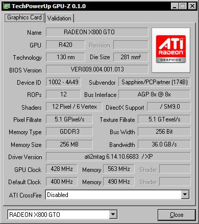 GPU-Z 0.1.0