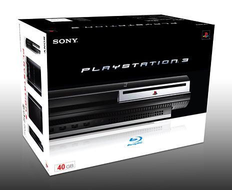40GB ps3 box