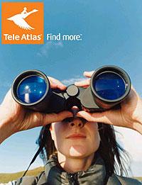 Reclameuiting van Tele Atlas