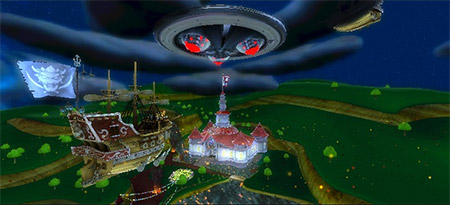 Super Mario Galaxy: invasie Mushroom Kingdom