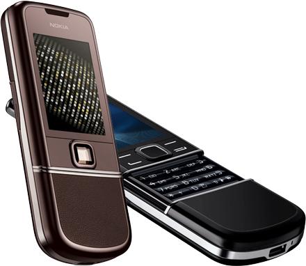 Nokia 8800 Art en 8800 Saphire