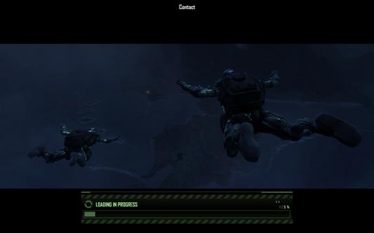 Crysis - laadscherm