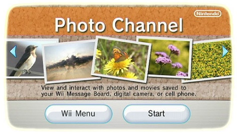 Nintendo Wii - Photo Channel