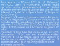 Kleine lettertjes Belgacom