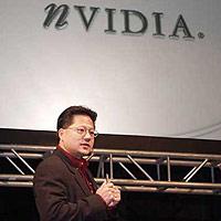 Nvidia's ceo Jen-Hsun Huang