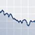 Grafiek met dalende lijn