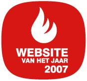 Logo Website van het Jaar 2007
