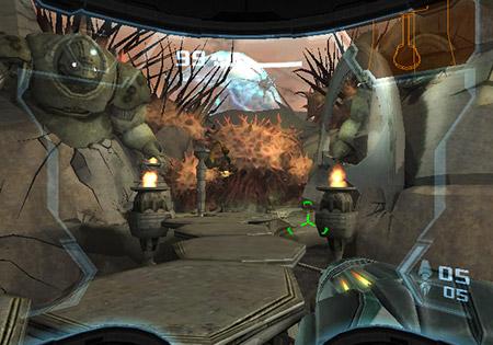 Metroid Prime 3 - buitenomgeving