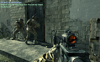 Call of Duty 4: Modern Warfare (8800GTX, all high, © Aap) - ready for entry