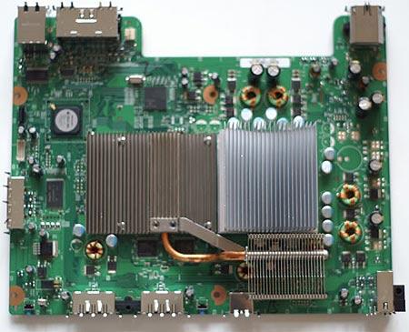 Gewijzigd koelontwerp van Xbox 360 \'Falcon\'