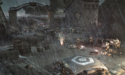 Company of Heroes: Opposing Fronts - gevecht