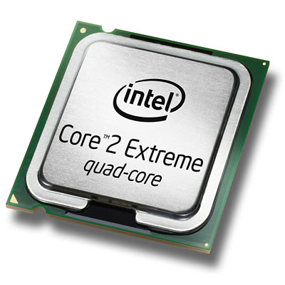 Intel Core 2 Extreme quadcore