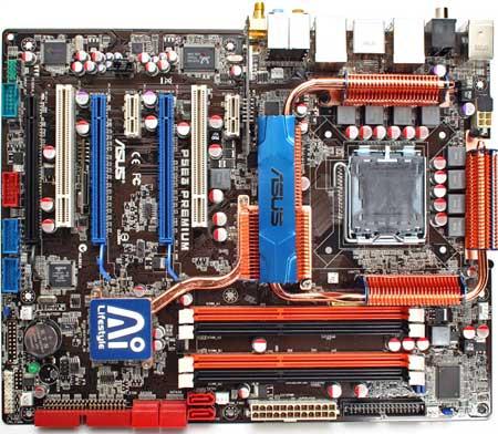 Asus P5E3 Premium met X48-chipset