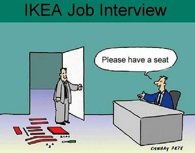 Sollicitatie bij Ikea