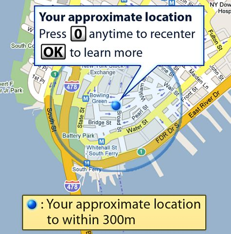 Google Maps My Location