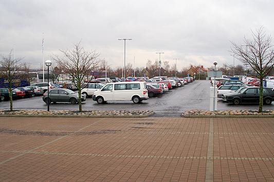 DreamHack 2007 - parkeerplaats 3