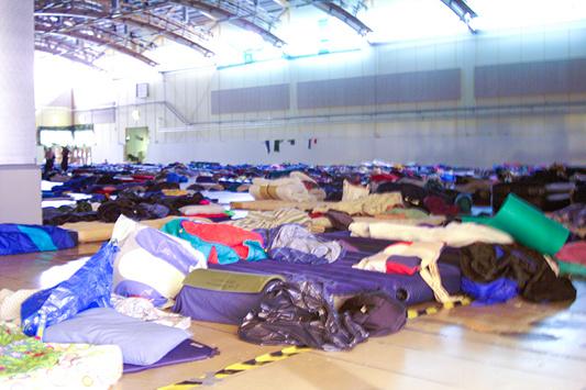DreamHack 2007 - Slaapzaal
