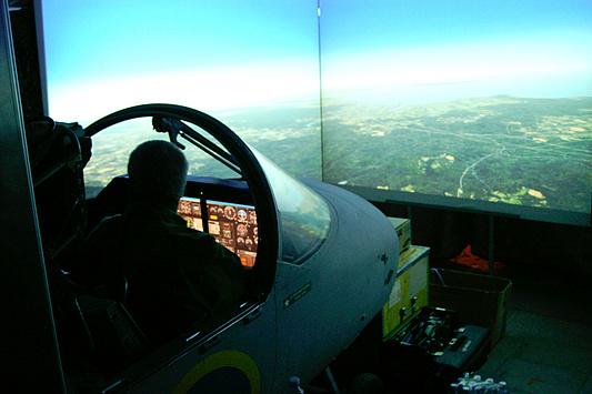 DreamHack 2007 - vliegsimulator