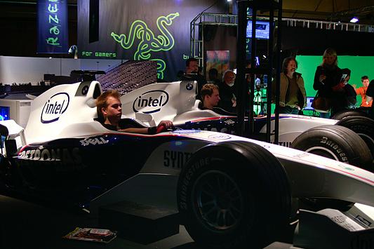 DreamHack 2007 - Intel Formule 1