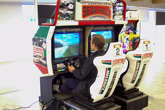 DreamHack 2007 - Sega Rally