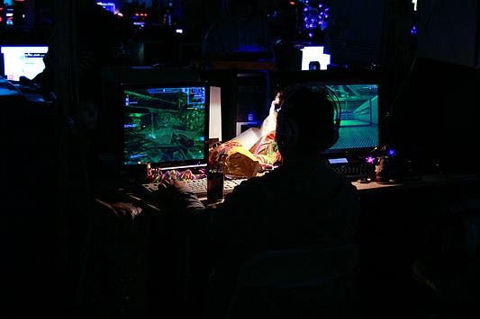 DreamHack 2007 - schieten